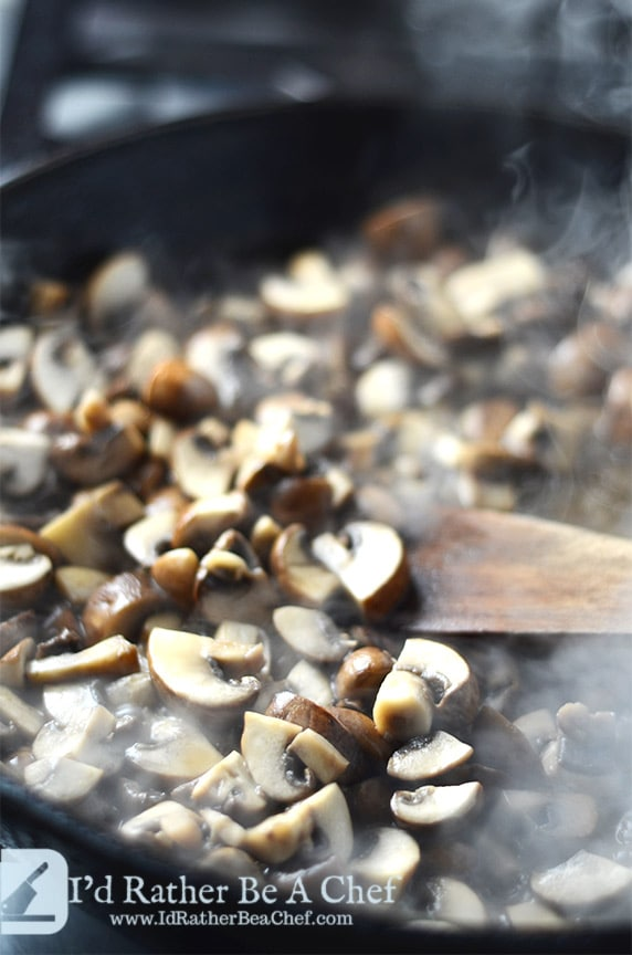 easy sauteed mushrooms recipe