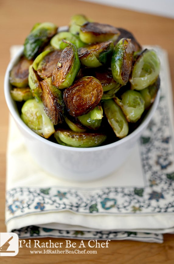 These honey roasted brussels sprouts will melt in your mouth and disappear quickly from the table! Get the recipe today!