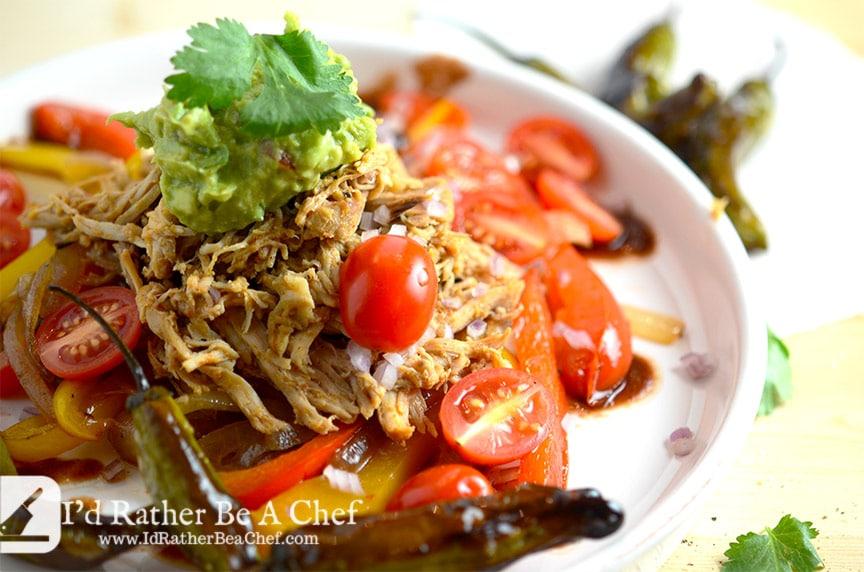 low carb chicken fajita recipe ready to eat