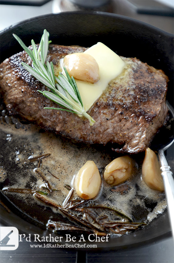 how to cook thin sirloin tip steak in a pan