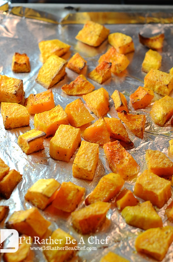 roasted butternut squash and sausage recipe