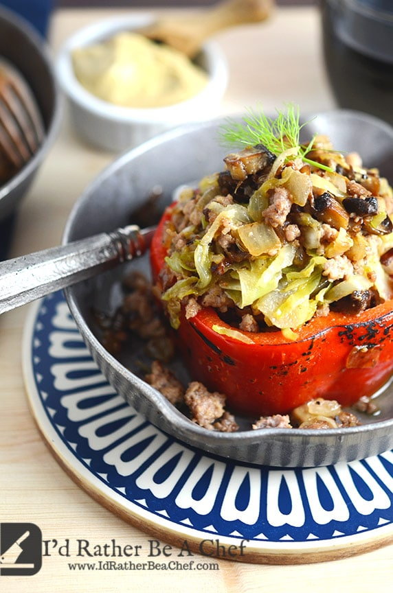 sausage stuffed peppers recipe ready to eat