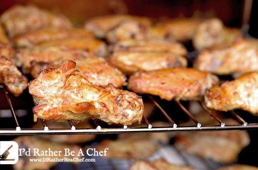 smoked wings recipe- getting the smoke on!