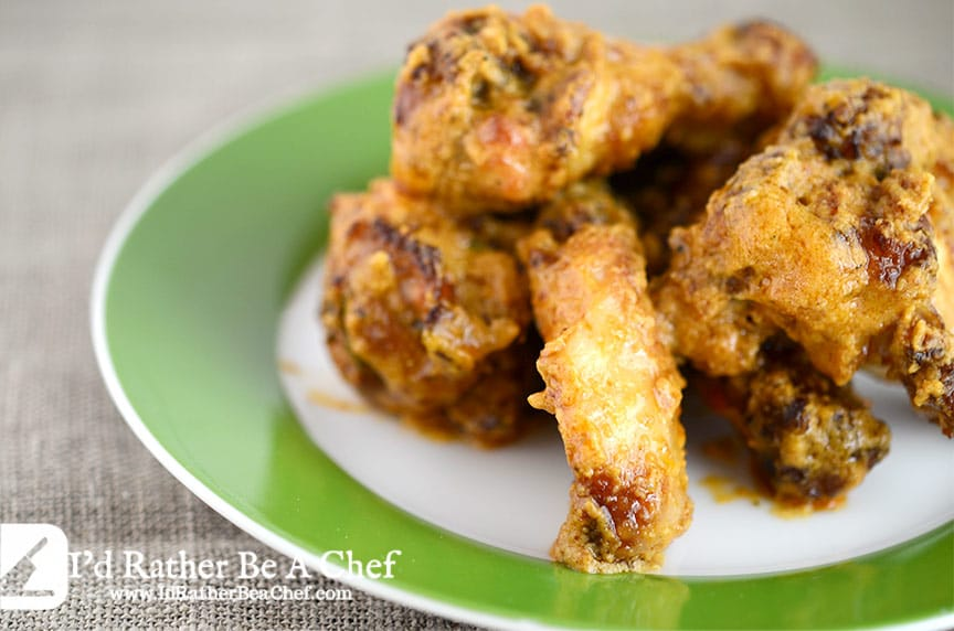 smoked wings recipe with wing sauce